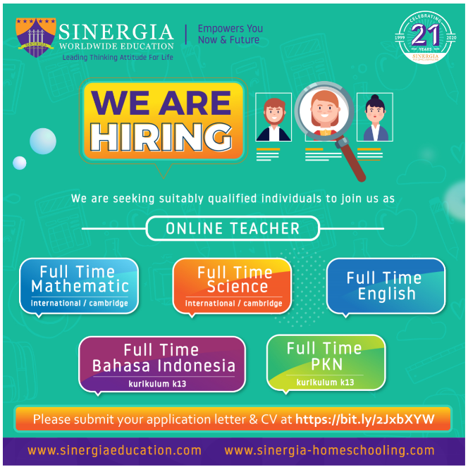 WE ARE HIRING ONLINE TEACHER
