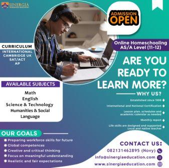 Open Admission For AS/A Level